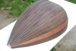 Lute Body (Wenge with rosewood decor)