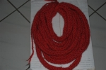 Scarf knitting round loom No.1