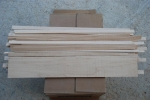 Maple wood strips