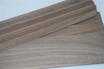 American walnut wood strips