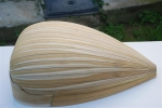 Lute body (blonde Mulberry)