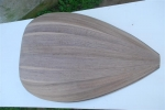 Lute Body (11-strips) American walnut